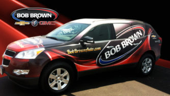 Bob Brown Service Vehicle