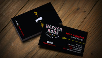 Hessen Haus Business Cards
