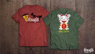 Fong's Pizza Apparel