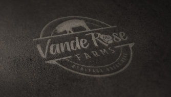 VandeRose Farms Logo