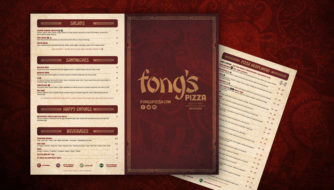 Fongs Pizza Menus